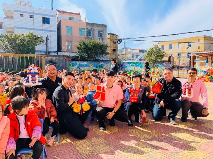 臺北木偶劇團 中國南安校園巡演